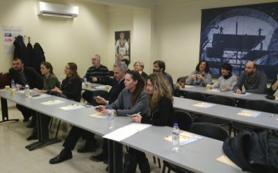 ESTEEM: First Dissemination Event in Athens, Greece